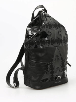 Jimmy Choo: backpacks online - Fitzroy star patterned backpack