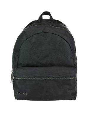 Jimmy Choo: backpacks - Reed canvas backpack