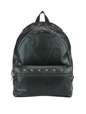 Jimmy Choo: backpacks - Reed leather backpack with stars