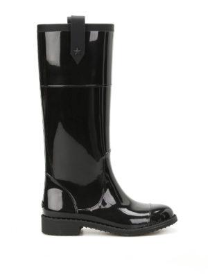 Jimmy Choo: boots - Edith Flat rain boots