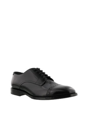 Jimmy Choo: classic shoes online - Penn crystal detail Derby shoes