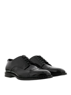 Jimmy Choo: classic shoes online - Penn patent leather Derby shoes