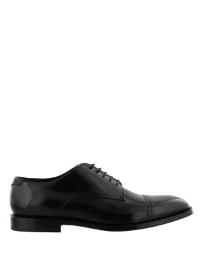 Jimmy Choo: classic shoes - Penn crystal detail Derby shoes