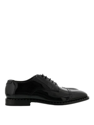 Jimmy Choo: classic shoes - Penn patent leather Derby shoes