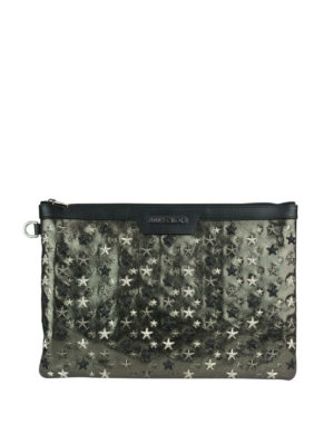 Jimmy Choo: clutches - Derek mixed stars clutch
