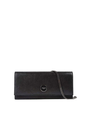 Jimmy Choo: clutches - Fie leather rectangular clutch