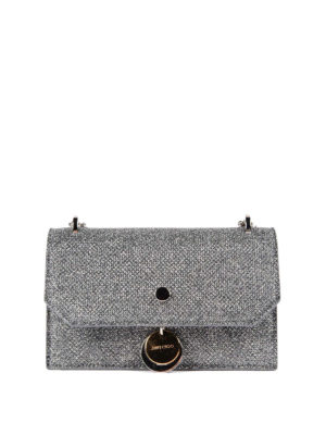 Jimmy Choo: clutches - Finley snake effect leather bag