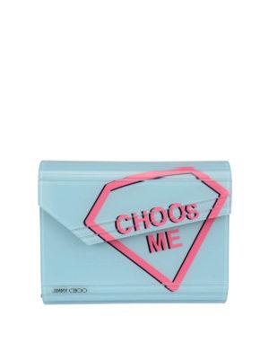 Jimmy Choo: clutches - I Want Choo clutch
