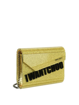 Jimmy Choo: clutches online - Candy I Want Choo clutch