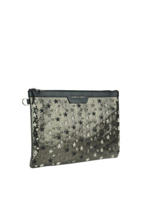 Jimmy Choo: clutches online - Derek mixed stars clutch