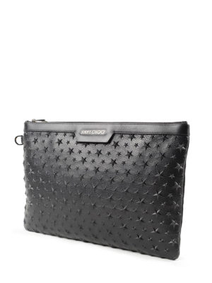 Jimmy Choo: clutches online - Derek star patch clutch
