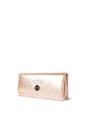 Jimmy Choo: clutches online - Fie leather rectangular clutch