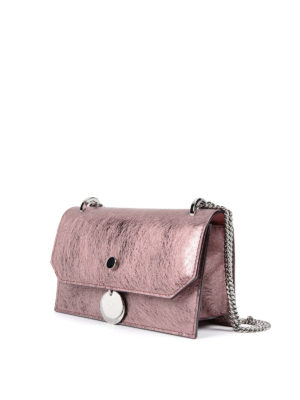 Jimmy Choo: clutches online - Finley vintage effect leather bag