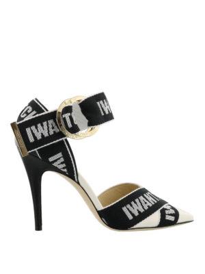 JIMMY CHOO: scarpe décolleté - Décolleté Bea 100 con nastro logato