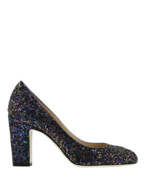 Jimmy Choo: court shoes - Billie glitter pumps