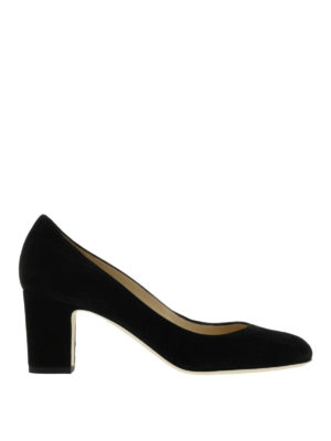 Jimmy Choo: court shoes - Billie suede pumps