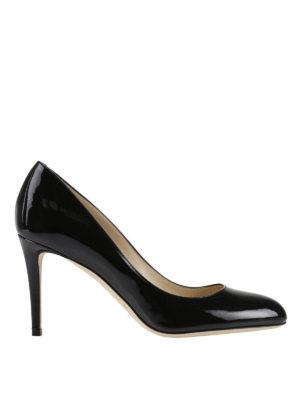 Jimmy Choo: court shoes - Bridget black patent pumps