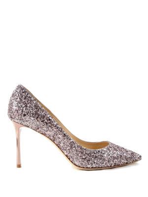 Jimmy Choo: court shoes - Glittered pumps