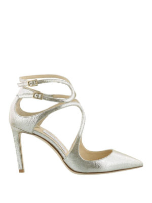Jimmy Choo: court shoes - Lancer 85 leather pumps