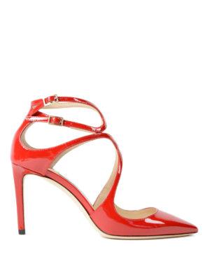 Jimmy Choo: court shoes - Lancer 85 patent leather pumps