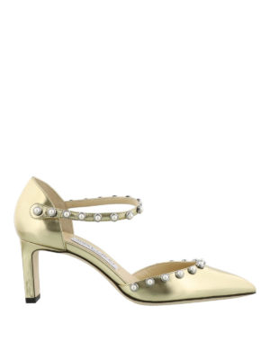 Jimmy Choo: court shoes - Leema 65 beaded pumps