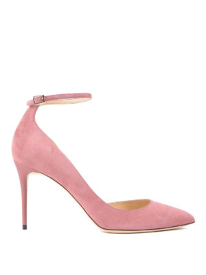 Jimmy Choo: court shoes - Lucy suede pumps