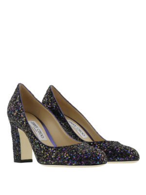 Jimmy Choo: court shoes online - Billie glitter pumps