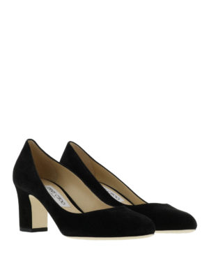 Jimmy Choo: court shoes online - Billie suede pumps
