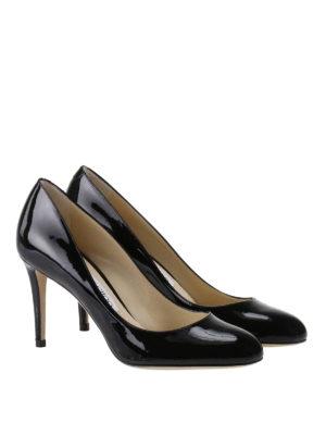 Jimmy Choo: court shoes online - Bridget black patent pumps