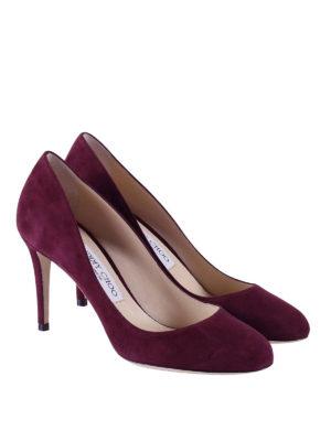 Jimmy Choo: court shoes online - Bridget suede pumps