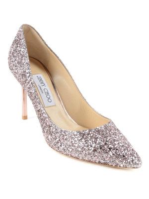 Jimmy Choo: court shoes online - Glittered pumps