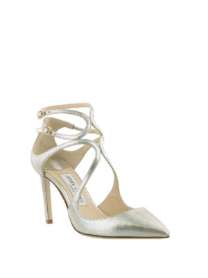 Jimmy Choo: court shoes online - Lancer 85 leather pumps