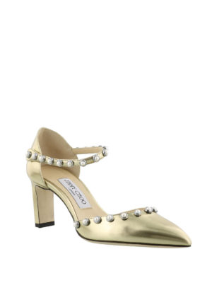 Jimmy Choo: court shoes online - Leema 65 beaded pumps