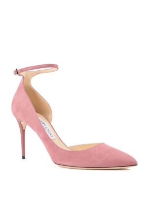 Jimmy Choo: court shoes online - Lucy suede pumps