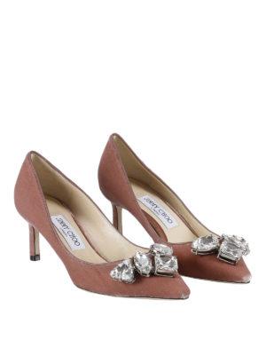 Jimmy Choo: court shoes online - Marvel crystal embellished pumps