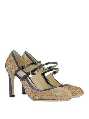Jimmy Choo: court shoes online - Micha 85 sequined pumps
