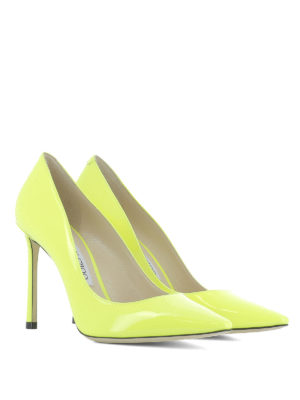 Jimmy Choo: court shoes online - Romy 100 patent pumps