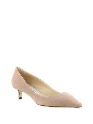 Jimmy Choo: court shoes online - Romy 40 bon ton kitten heels