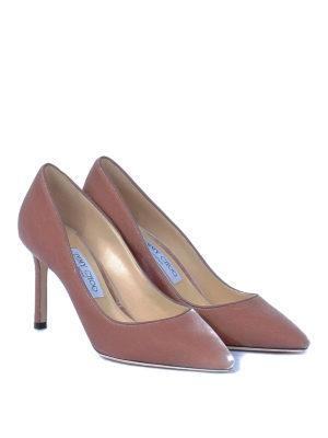 Jimmy Choo: court shoes online - Romy 85 pumps in velvet