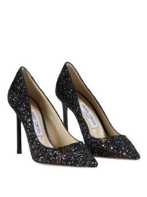 Jimmy Choo: court shoes online - Romy glitter pumps