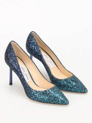 Jimmy Choo: court shoes online - Romy glitter sensual pumps