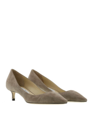 Jimmy Choo: court shoes online - Romy suede court shoes