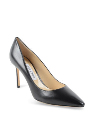 Jimmy Choo: court shoes online - Roomy 85 leather pumps