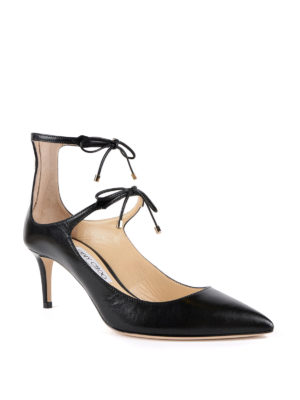 Jimmy Choo: court shoes online - Sage 65 laced-up pumps