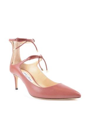 Jimmy Choo: court shoes online - Sage 65 laced-up pumps