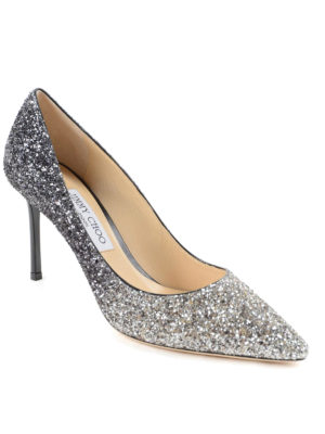 Jimmy Choo: court shoes online - Shaded glittered pumps