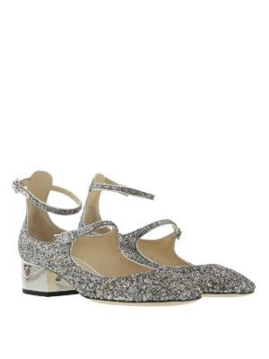 Jimmy Choo: court shoes online - Wilbur glitter pumps