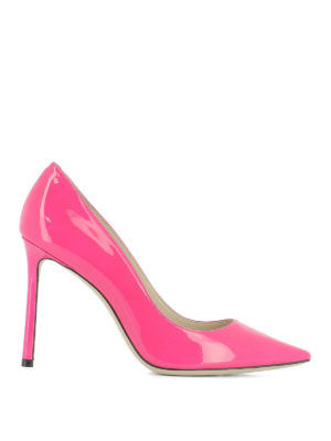 Jimmy Choo: court shoes - Romy 100 patent pumps