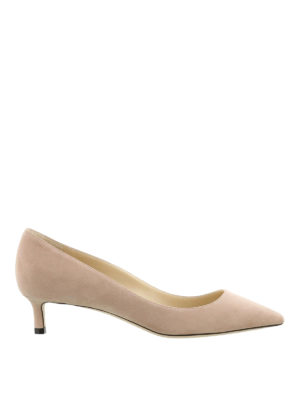 Jimmy Choo: court shoes - Romy 40 bon ton kitten heels