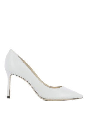 Jimmy Choo: court shoes - Romy 85 leather pumps